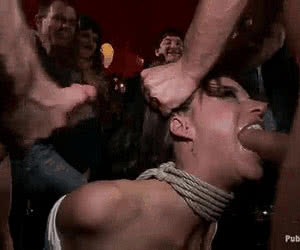 Hair Pulling animated GIF